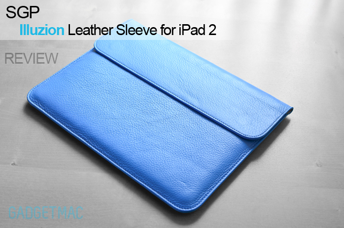 Smart Cover Reviews >> Sgp Illuzion Leather Sleeve For Ipad 2 With Smart Cover