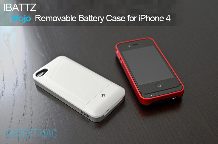 timeless design 5455e 3add0 iBattz Mojo Removable Battery Case for iPhone 4 Review — Gadgetmac