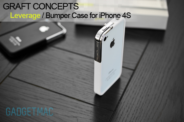 Graft Concepts Leverage Bumper Case For IPhone 4S Review White