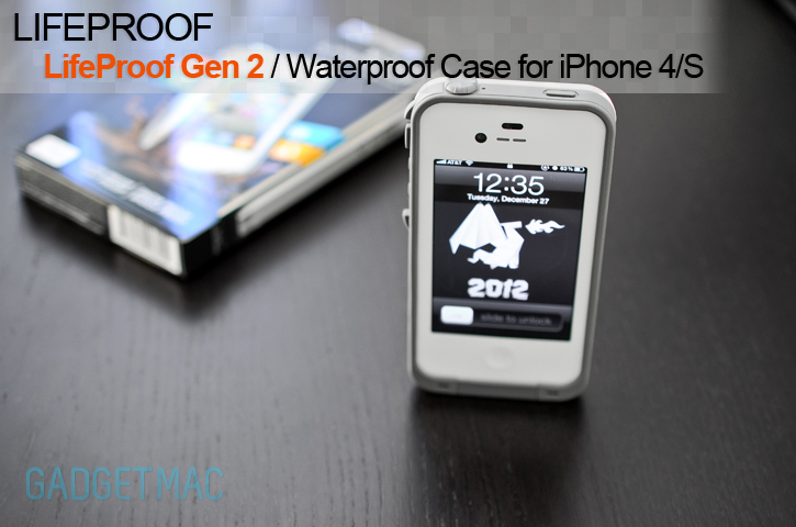 best website 77674 9dc82 LifeProof Gen 2 Waterproof iPhone 4S Case Review — Gadgetmac