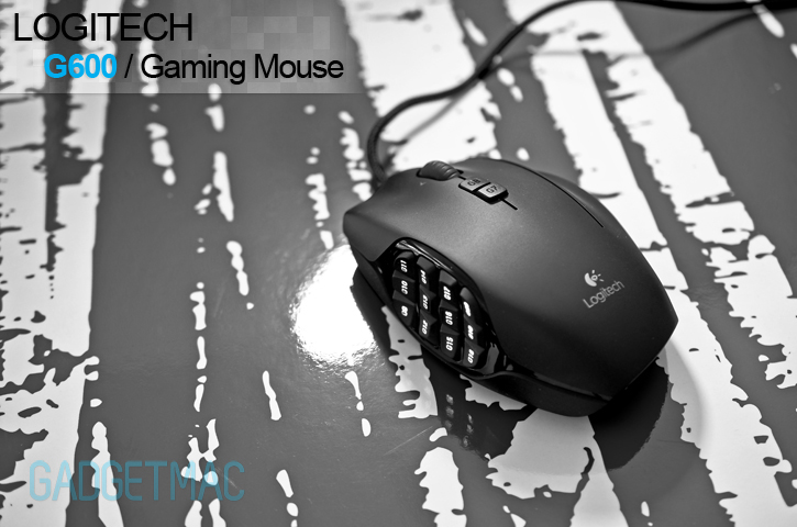 Logitech G600 Gaming Mouse Review Gadgetmac