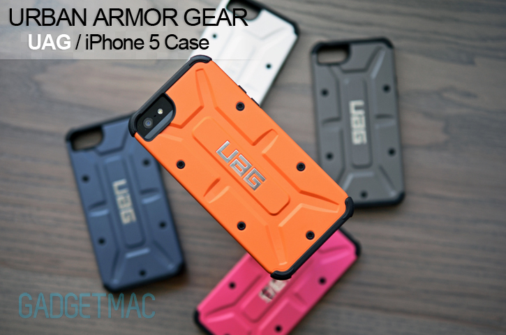 huge discount 4eb5c 1f81f Urban Armor Gear UAG Case for iPhone 5 Review — Gadgetmac