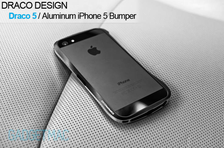 draco 5 iphone 5 aluminum bumper case review \u2014 gadgetmac