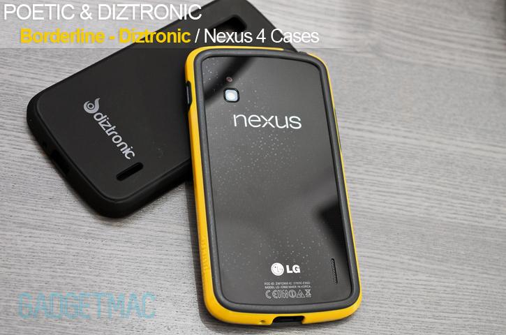 new product d5c64 3d435 Poetic Borderline & Diztronic Nexus 4 Bumper Case Review — Gadgetmac