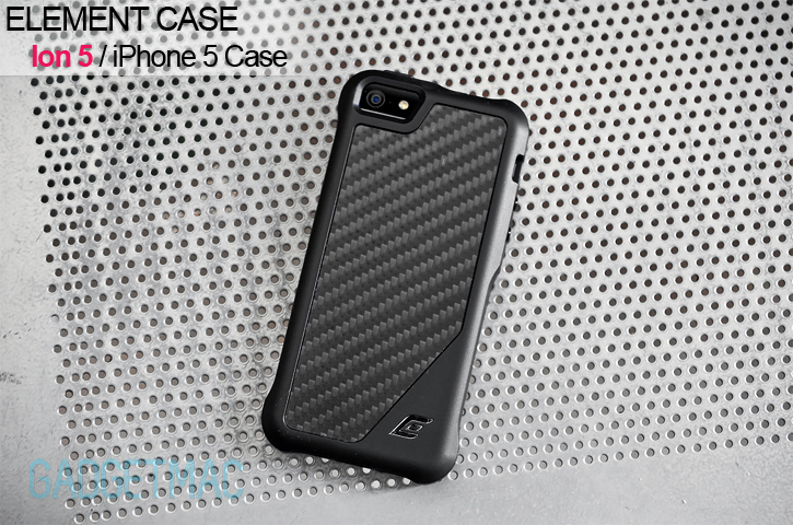 timeless design bc2c6 76f16 Element Case Ion 5 Case for iPhone 5 Review — Gadgetmac