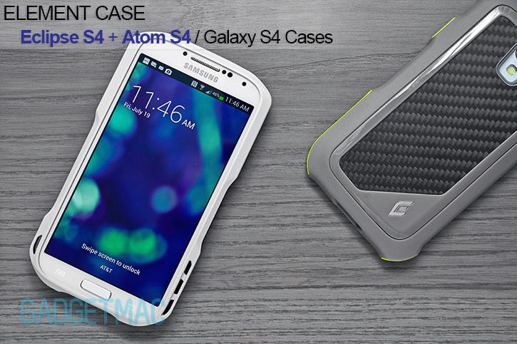 Element Case Eclipse S4 u0026 Atom S4 Galaxy S4 Cases Review u2014 Gadgetmac