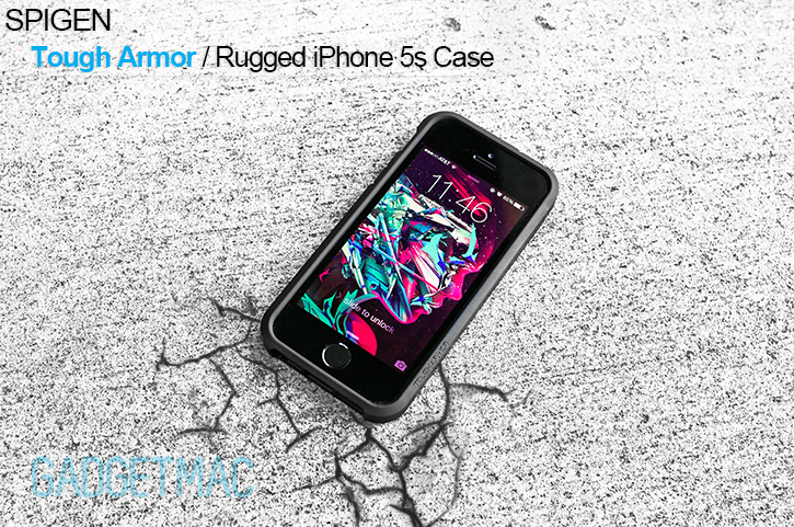 spigen tough armor iphone 5s spigen tough armor iphone 5s review gadgetmac 18029