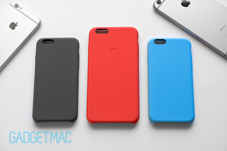 meet 1078f a4ca4 Apple iPhone 6 & 6 Plus Silicone Case Review — Gadgetmac