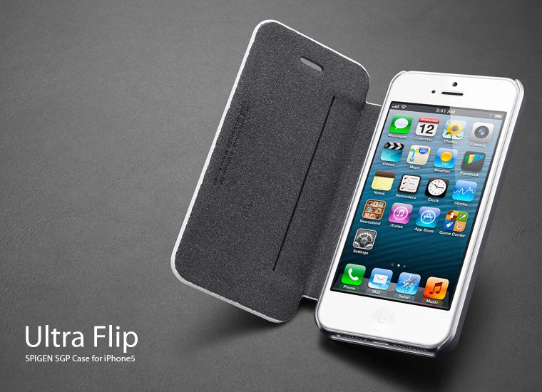 pretty nice 46f2a 9d919 Spigen Ultra Flip iPhone 5 Case, The Samsung Flip Cover Clone ...