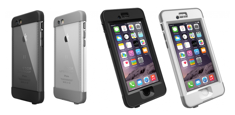 this is lifeproof s amazing nuud waterproof case for iphone 6