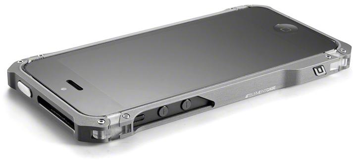 Element Case Debuts Sector 5 Aluminum Iphone 5 Bumper Case Gadgetmac