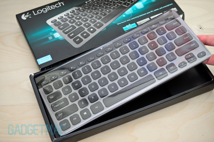 Logitech K810 Illuminated Bluetooth Keyboard Review Gadgetmac