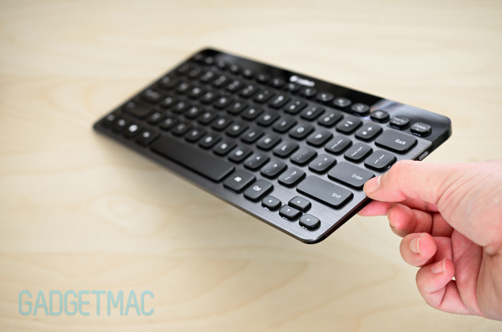 logitech k810 illuminated bluetooth keyboard review gadgetmac. Black Bedroom Furniture Sets. Home Design Ideas