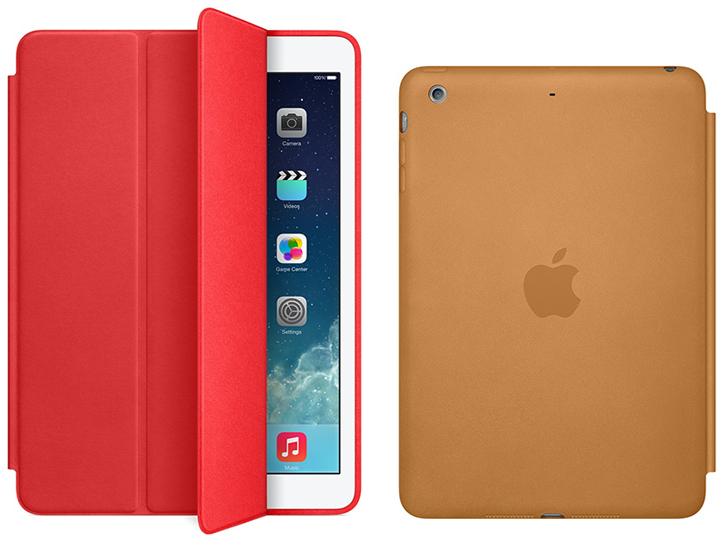 Apple's New Leather Smart Case For iPad Air, iPad mini 2 ...
