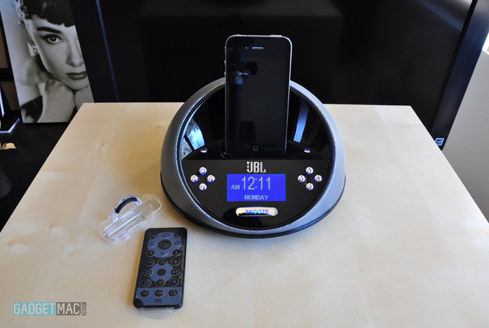 JBL On Time Micro Speaker & Clock Dock — Gadgetmac