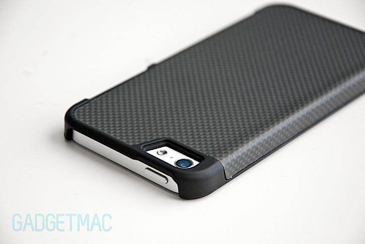 new product d6111 ca323 Drop DropCarbon Carbon Fiber iPhone 5 Case Review — Gadgetmac