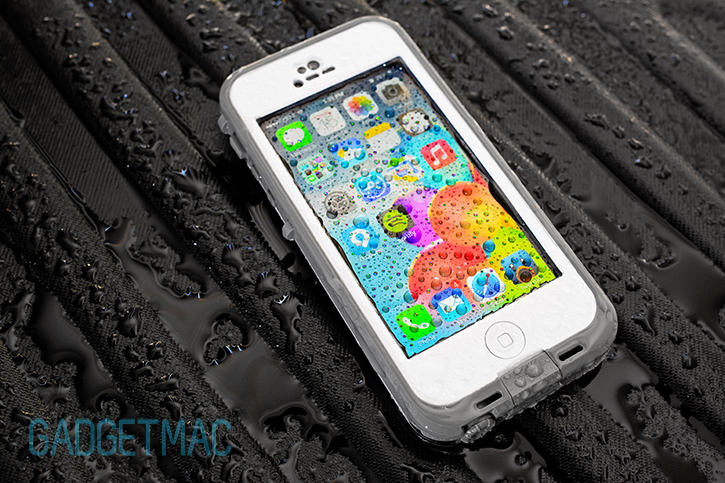 underwater iphone 5 case lifeproof nuud waterproof iphone 5 review gadgetmac 8385