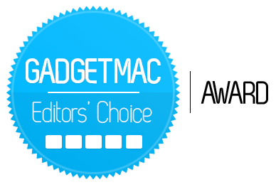 Gadgetmac Editors' Choice 5 Star Rating.png