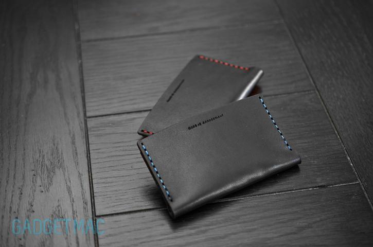 Leather wallet smells