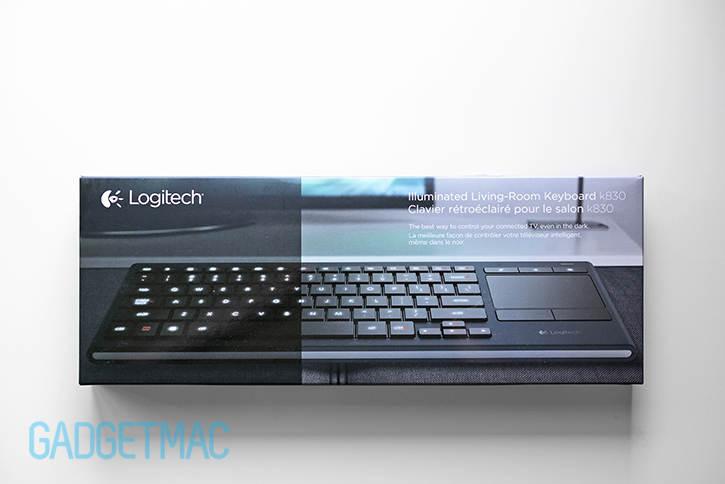Logitech K830 Illuminated Wireless Living Room Keyboard Review