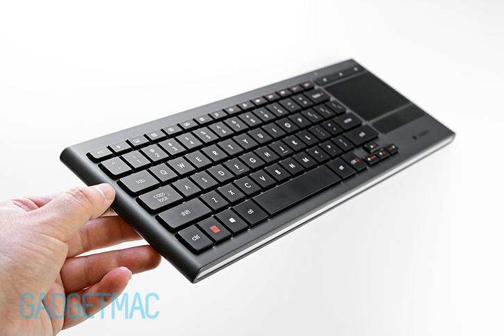 34e26aeae26 Logitech K830 Illuminated Wireless Living-Room Keyboard Review ...