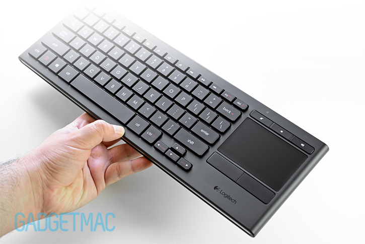 Logitech K830 Illuminated Wireless Living Room Keyboard