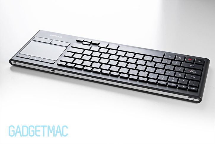Logitech Illuminated Living Room Wireless Keyboard Review