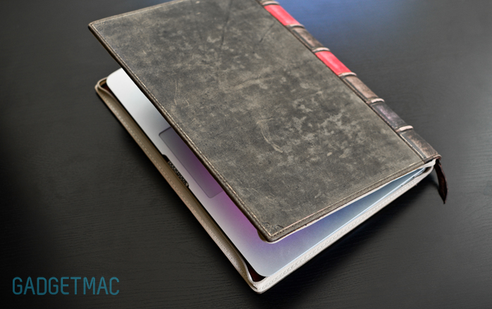 Macbook Air Old Book Cover ~ Twelve south bookbook leather case for macbook air
