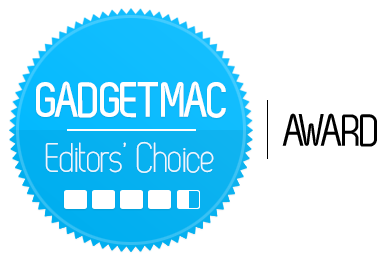 Gadgetmac Editors' Choice 4.5 Star Rating.png