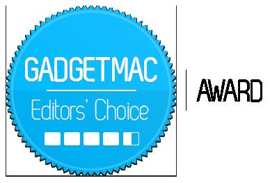 Gadgetmac Editors' Choice 4.5 Star Rating.png