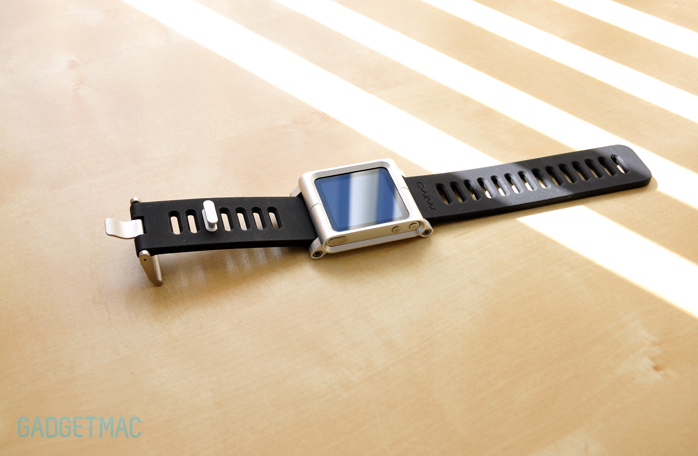 LunaTik Wrist Watch Band iPod nano 6G aluminum.jpg