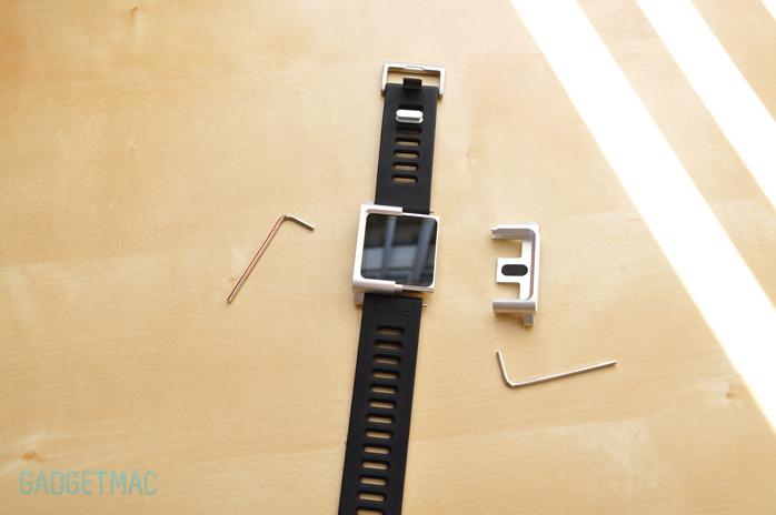LunaTik Wrist Watch Band iPod nano 6G kit installation.jpg