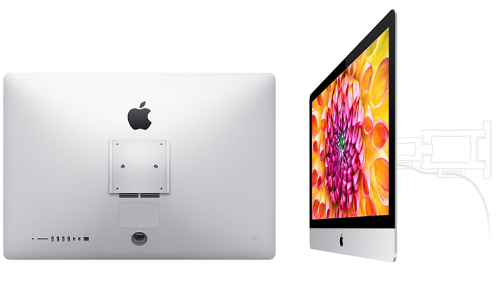 Slim Imacs Now Available With A Built In Vesa Mount