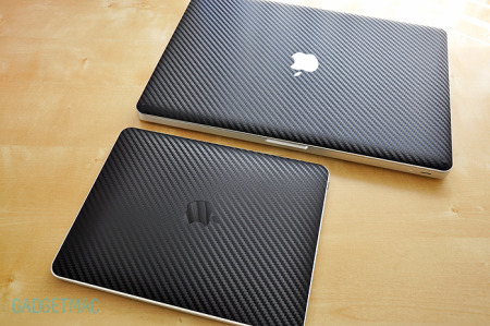 The Lucky Labs Teksure Carbon Fiber Skin MacBook Pro 15%22 Top.jpg