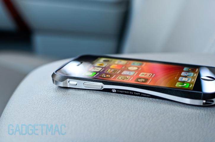 Draco 5 Iphone 5 Aluminum Bumper Case Review Gadgetmac