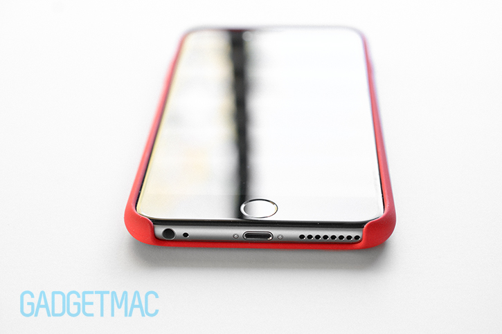 Around the case are seamless pill-shaped button indentation creating a ...