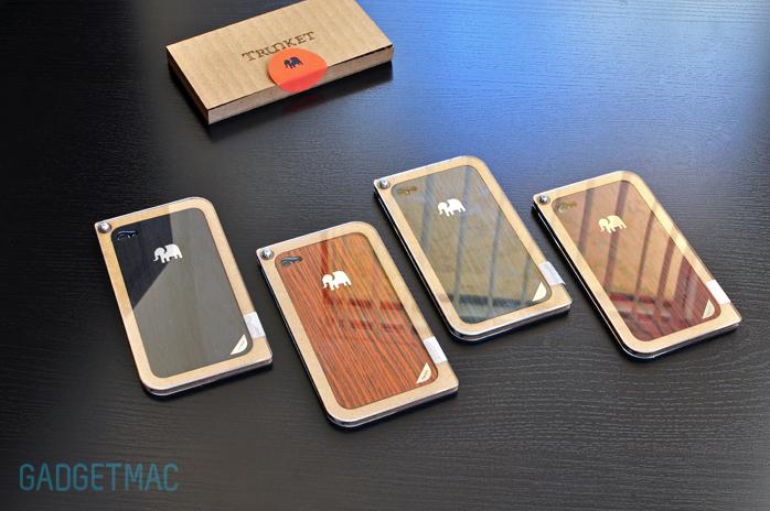 Trunket American Rosewood Wood Iphone 4 Skins Gadgetmac