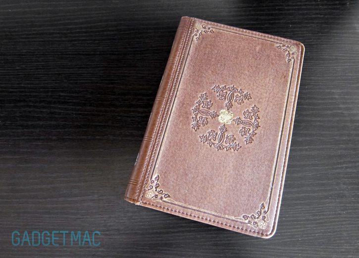 Vintage Book Cover Kindle : Lightwedge verso prologue cover case for kindle fire