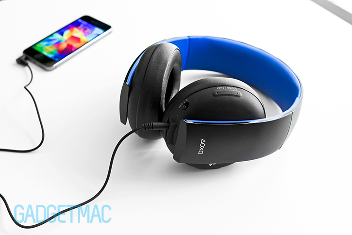 Sony Gold PS4 Wireless Stereo Headset Review — Gadgetmac