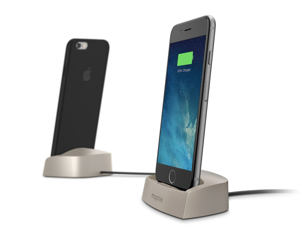 quality design 708f4 628c7 Mophie's Desktop Dock Charges Your iPhone 6 Inside Apple's Own Case ...