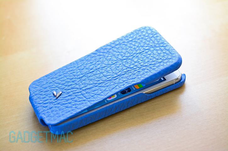 hot sales e7673 1e39c Vaja Top Flip Case & Grip Leather iPhone 5 Case Review — Gadgetmac