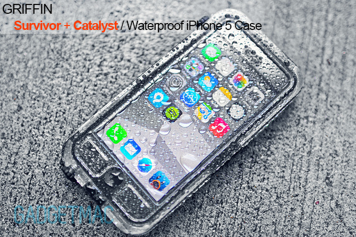 huge discount 4ac43 a913d Griffin Survivor + Catalyst Waterproof iPhone 5 Case Review — Gadgetmac