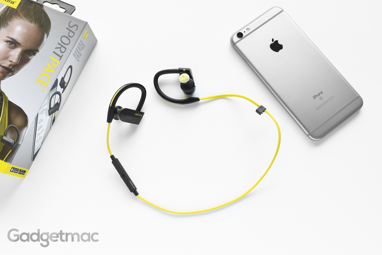 Jabra Sport Pace Wireless Earbuds Review Gadgetmac Blue