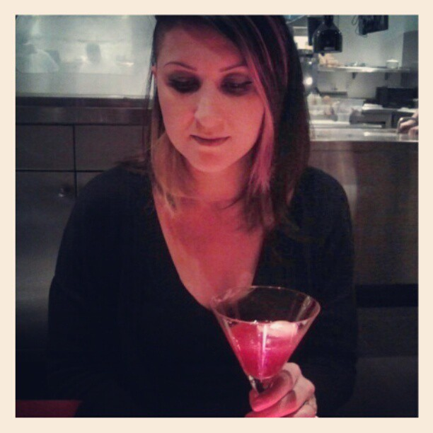 Pre-dinner drink. (Taken with  instagram )