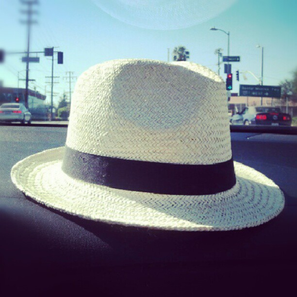 New hat (Taken with  Instagram )