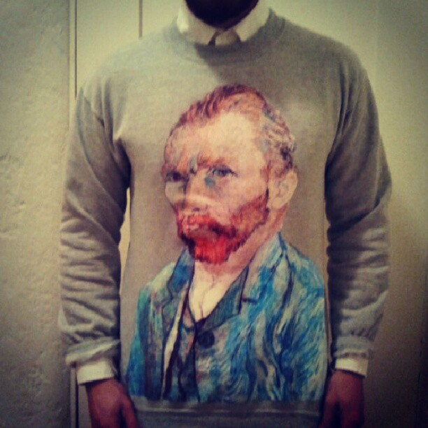 Van Gogh weather.