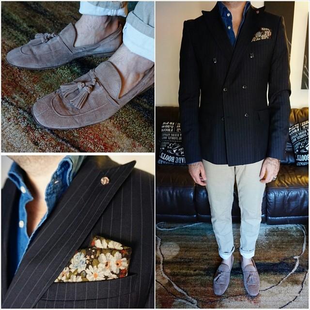 A case of the Mondays    #modepopuli #menwithstyle #menswear #mensfashion #mensclothing #mensootd #fashionpost #fashion #zara #zarausa #pocketsquare #followme #losangeles #hm #jcrew #acaseofthemondays