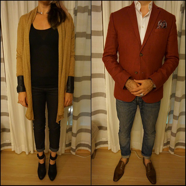 Couple Fashion Friday    #modepopuli #moda #cff #menwithstyle #menswear #mensfashion #mensclothing #mensootd #womenwithstyle #womenswear #womensfashion #womensclothing #womensootd #couplefashion #fashionpost #fashion #hm #hmtrend #pocketsquare #gqstyle #GQ #allsaints #kennethcole #couplefashionfriday