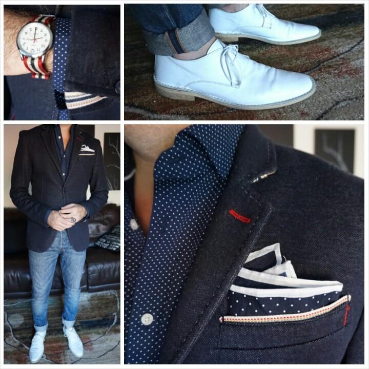 White shoes man