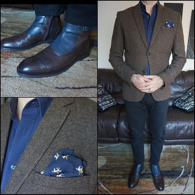 Bootstrap Saturday    #modepopuli #moda #menwithstyle #menswear #mensfashion #mensclothing #mensootd #fashionpost #fashion #hm #hmtrend #GQ #gqstyle #zara #zarausa #allsaints #G2000 #style #dapper #boots #bootstrapsaturday